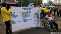 Demo, Mahasiswa Sindir Setya Novanto