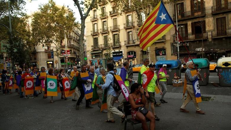 Catalonia Nyatakan Kemerdekaan, Spanyol Tuai Dukungan Internasional
