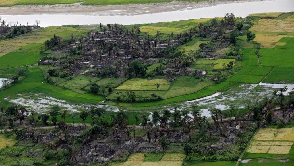 Foto: Desa Cantik Rohingya yang Tinggal Kenangan