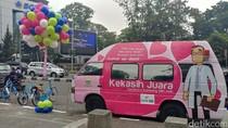Mengenal Kekasih, Mobil Pink Penampung Curhat Warga Bandung