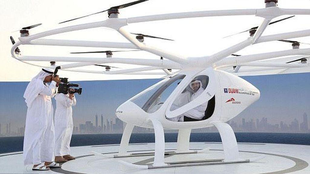 Dubai Bakal Jadi Kota Pertama yang Punya Taksi Terbang?