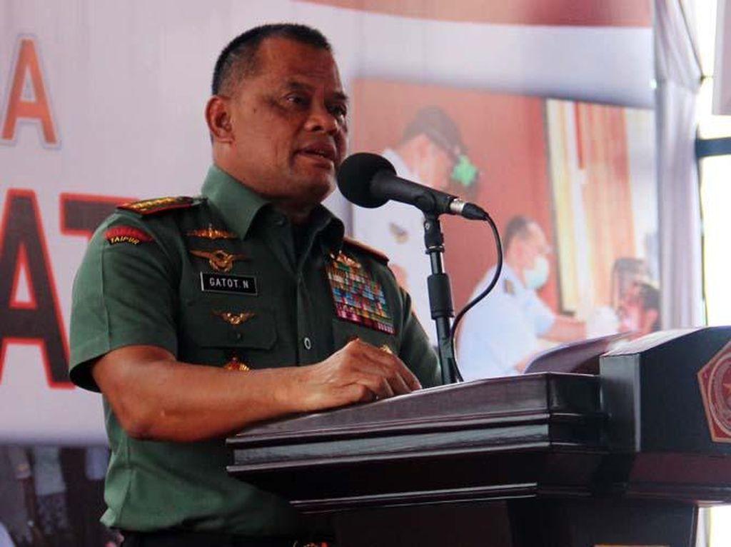Persoalan Internal Apa yang Bikin Jenderal Gatot Ditolak AS?