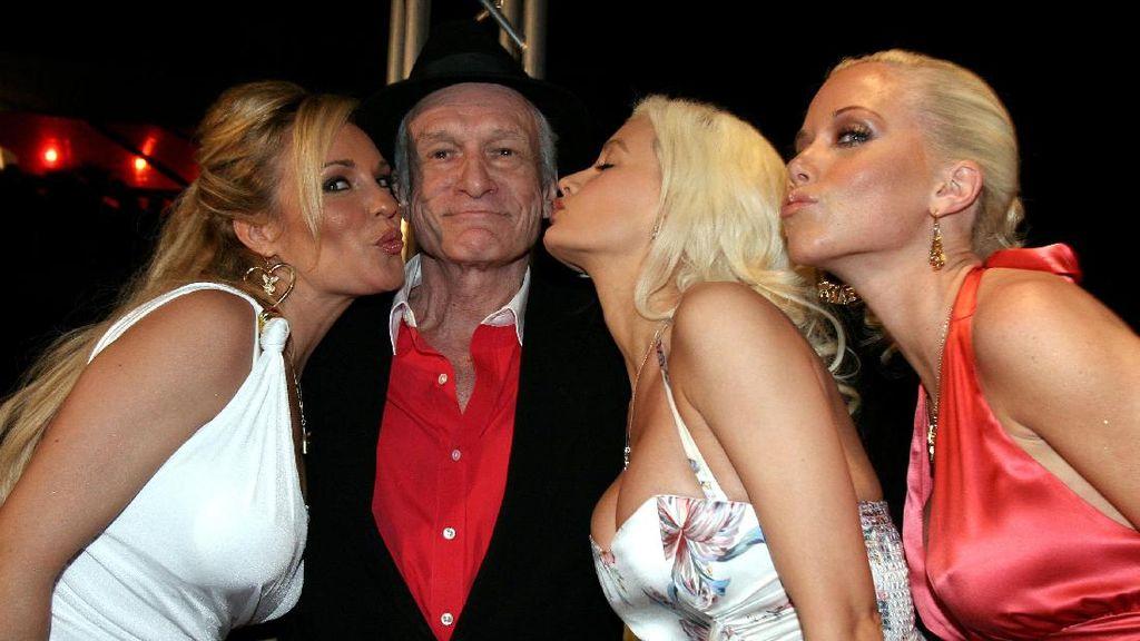 Naik Turun Bisnis Hugh Hefner dengan Buka Tutup Busana Playmate