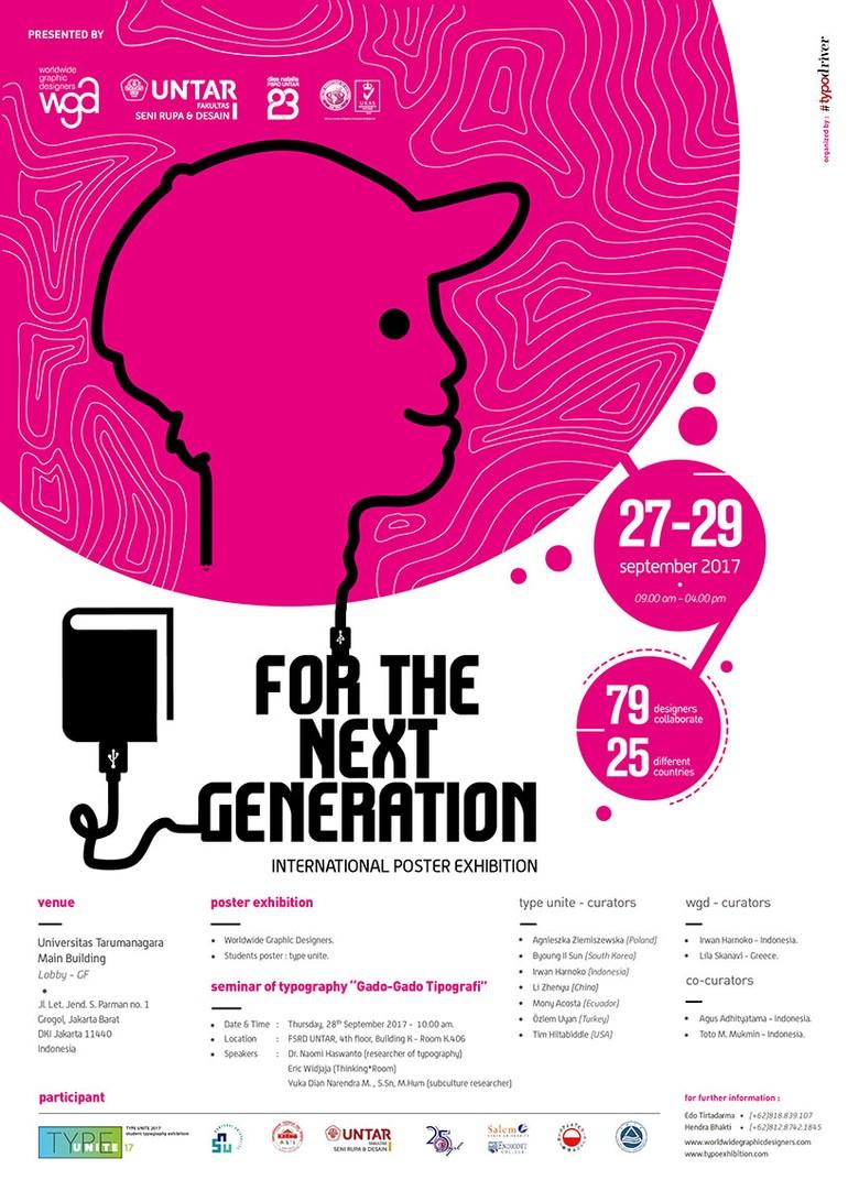 Pameran Seni 123 Poster Internasional Digelar di Jakarta