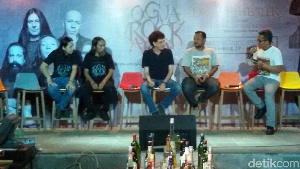 Konser Dream Theater Pindah dari Candi Prambanan ke Kridosono
