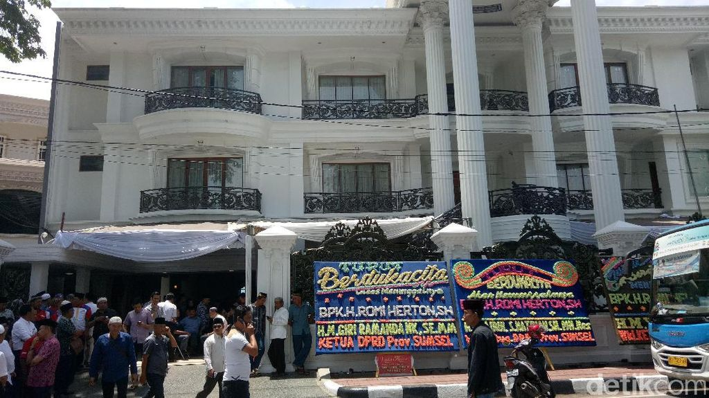 Jenazah Romi Herton akan Disemayamkan di Balai Kota Palembang