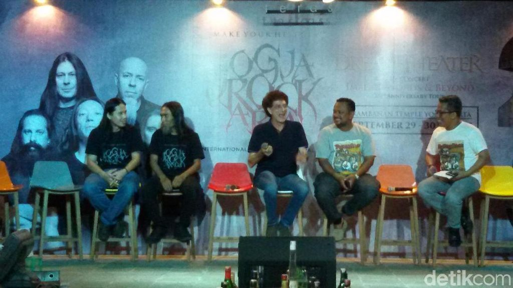 Promotor Konser Dream Theater Angkat Panggung dari Candi Prambanan