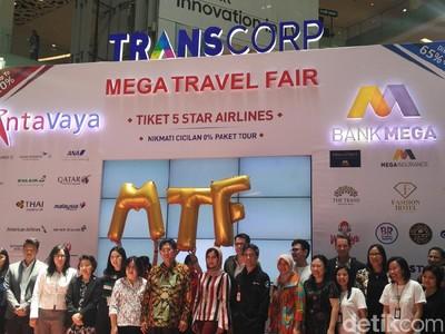 Ini Promo Tiket Pesawat dan Tur Luar Negeri di Mega Travel Fair Makassar