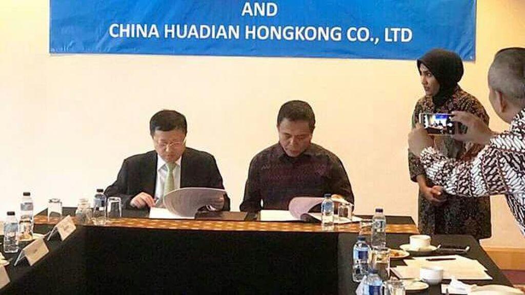 Perusahaan Cina Bakal Bangun Pembangkit Listrik di Aceh