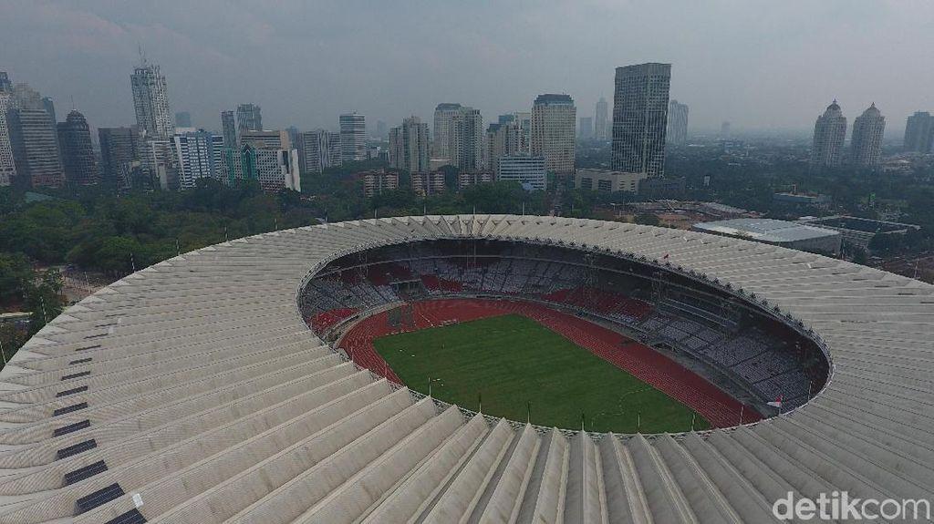 Kompleks GBK Mulai Megah, Persiapan Asian Games di Sisi Prestasi Sampai Mana?