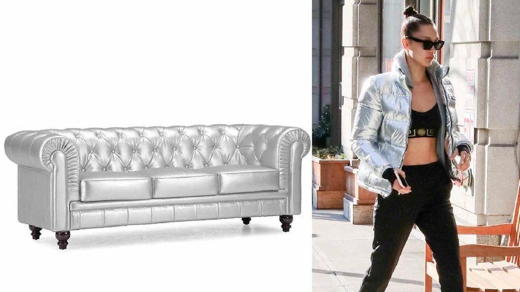 8 Momen Fashion Bella Hadid yang Disulap Jadi Furnitur