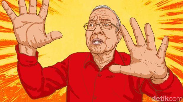 Pemeran Presiden Soeharto, Amaroso Katamsi Meninggal Dunia