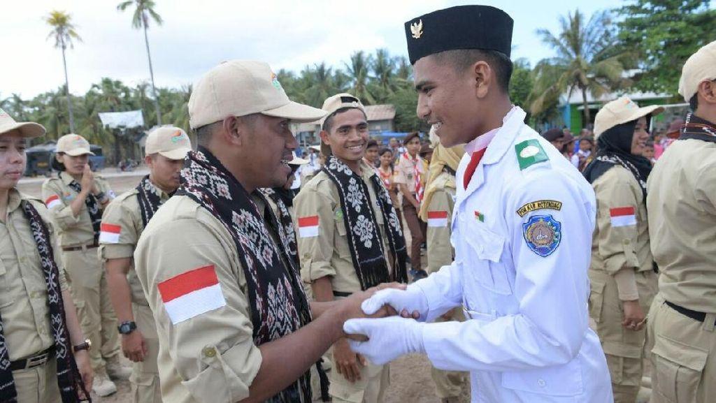 Kirab Pemuda Nusantara di Pulau Rote