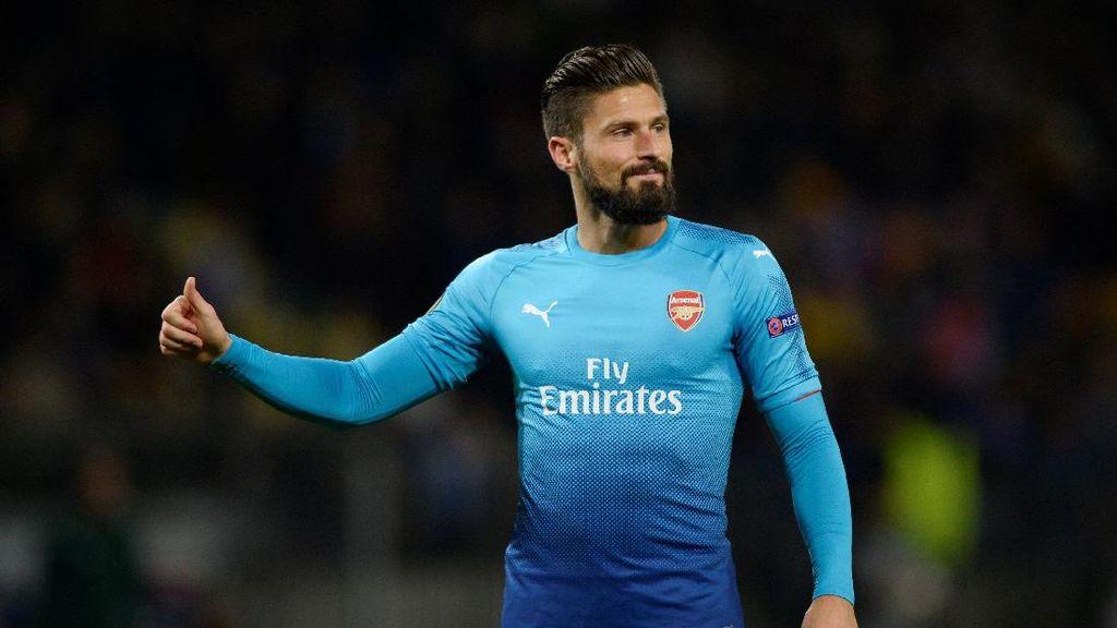 Giroud Sudah 100 Gol di Arsenal