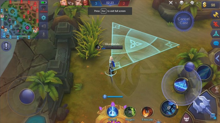 Mobile Legends. Foto: screenshot detikINET