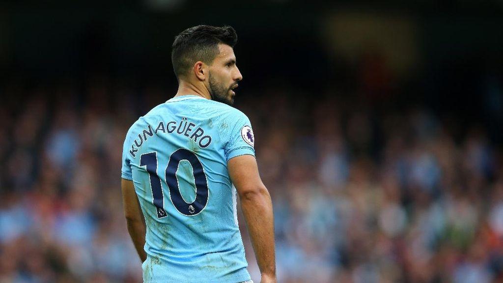 Manchester City Benarkan Kabar Aguero Kecelakaan