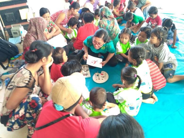 Demi Kesehatan, Pengungsi Gunung Agung di Zona Aman Diminta Pulang