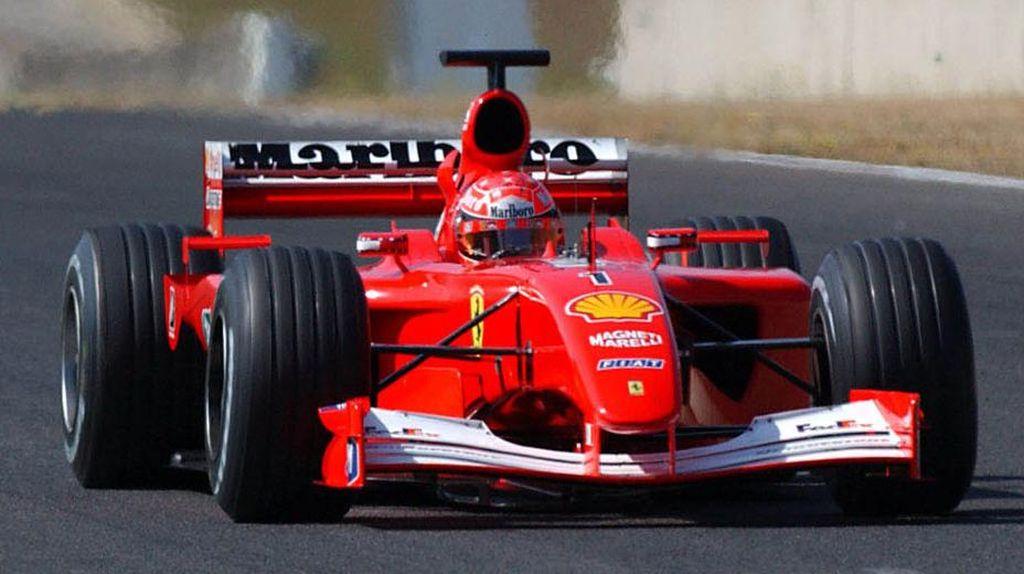 Mobil F1 Bekas Michael Schumacher Dilelang Rp 53,8 Miliar, Minat?