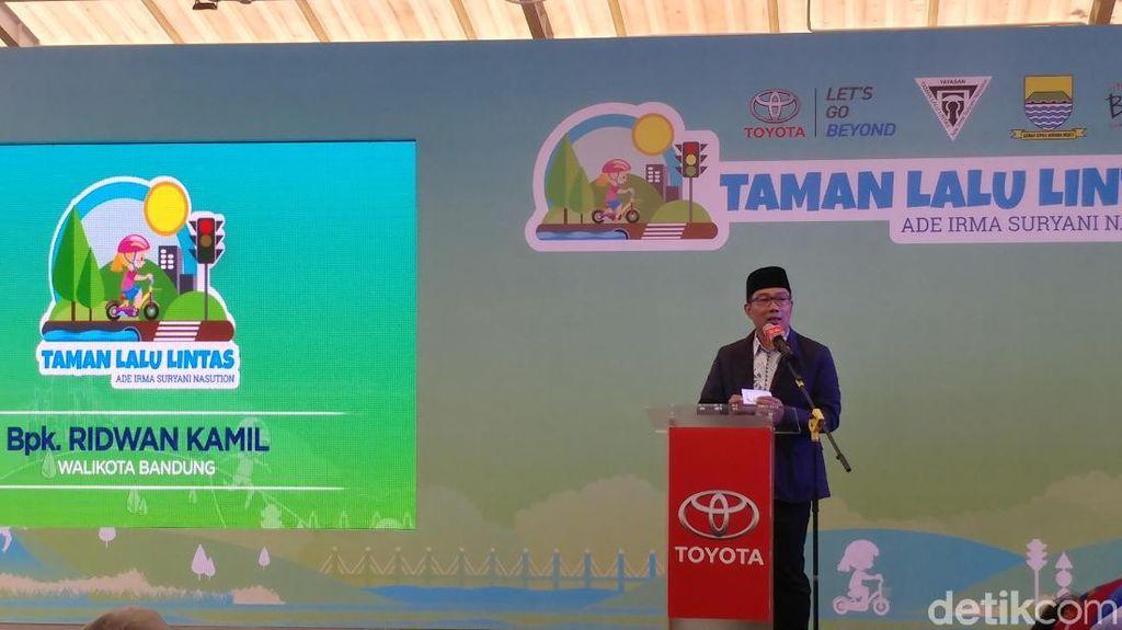 Ridwan Kamil: Sudah Jarang Anak Sekolah Naik Kendaraan