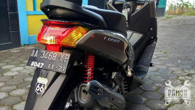Yamaha NMAX modifikasi, Foto: Lambang