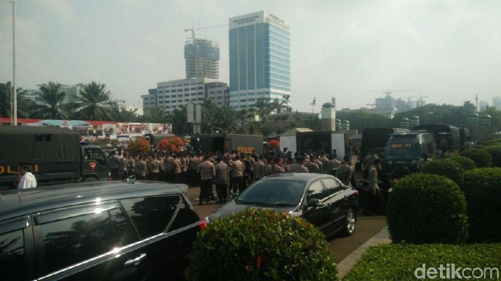 Ini Rute Massa Aksi 299 ke DPR dari Segala Arah