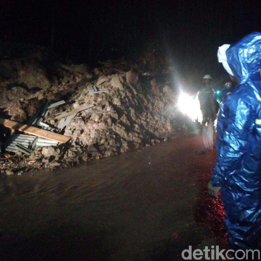 Musim Hujan, Jalur Selatan Garut Rawan Longsor dan Laka Lantas