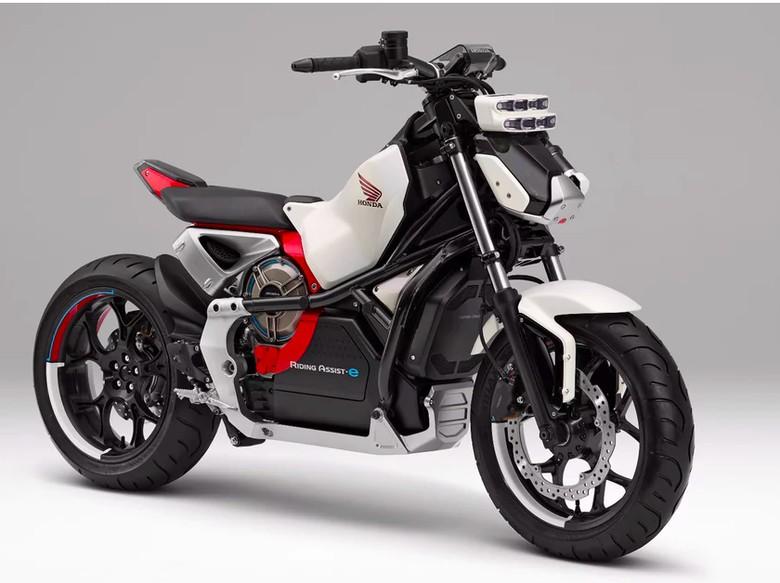 Honda Pamer Motor yang Bisa Jalan Sendiri Akhir Bulan Ini