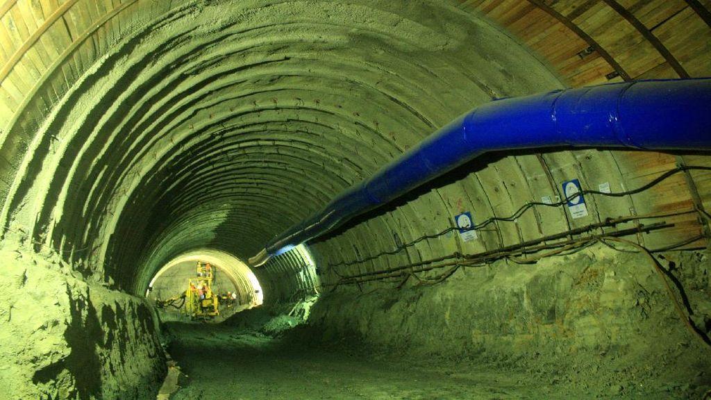 Melihat Proyek Terowongan yang Hubungkan Purwokerto-Cilacap