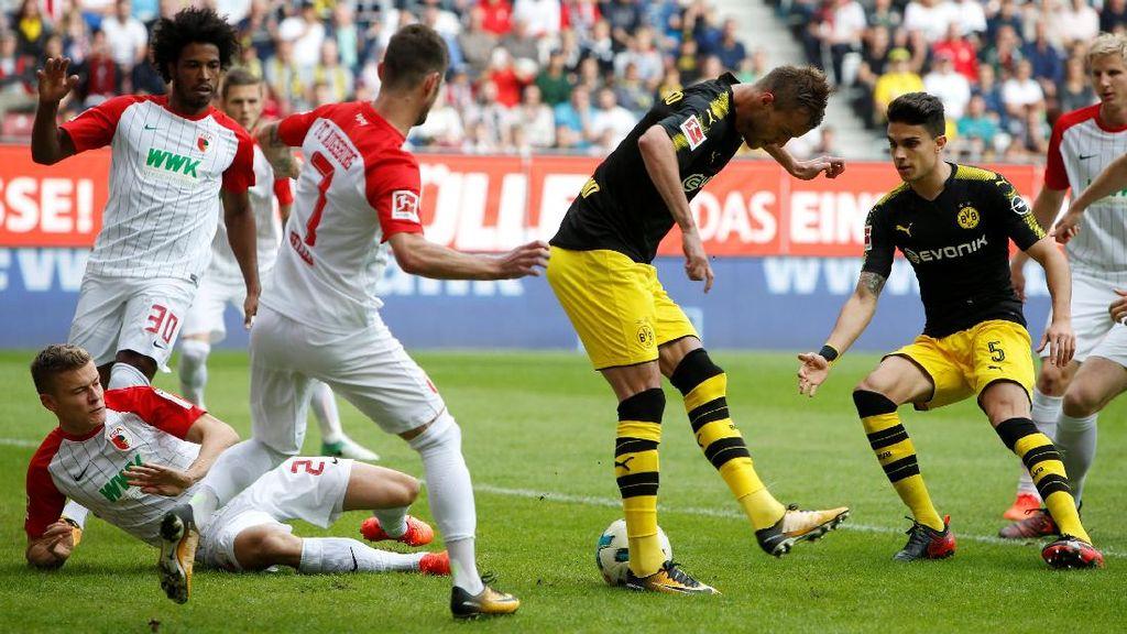 Laju Tak Terkalahkan Dortmund Berlanjut Usai Bekap Augsburg