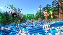 Pertama di Dunia! Lego Roller Coaster dengan Virtual Reality