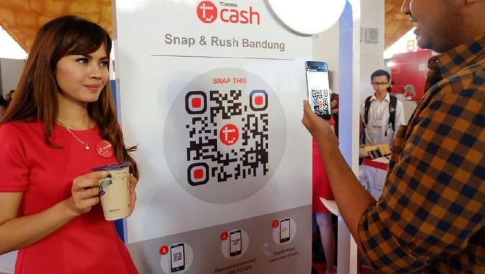 Tcash. Foto: dok. Telkomsel