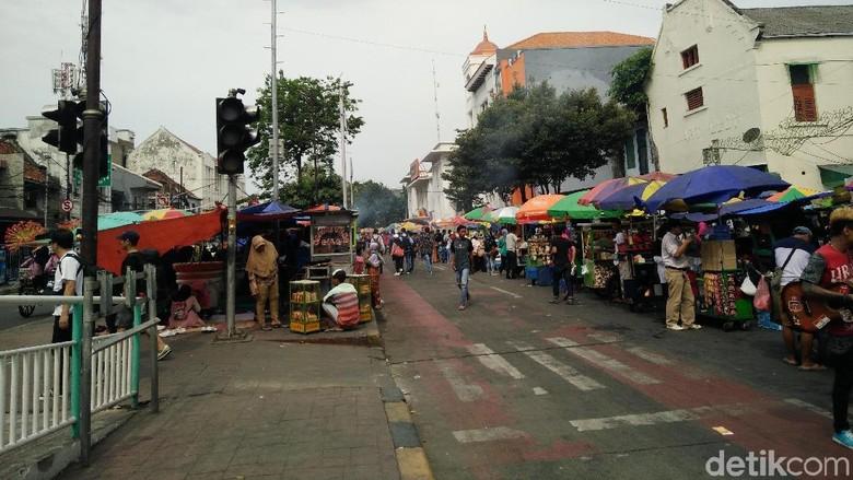 Usai Tanah Abang, Pemprov DKI akan Tata PKL Kota Tua