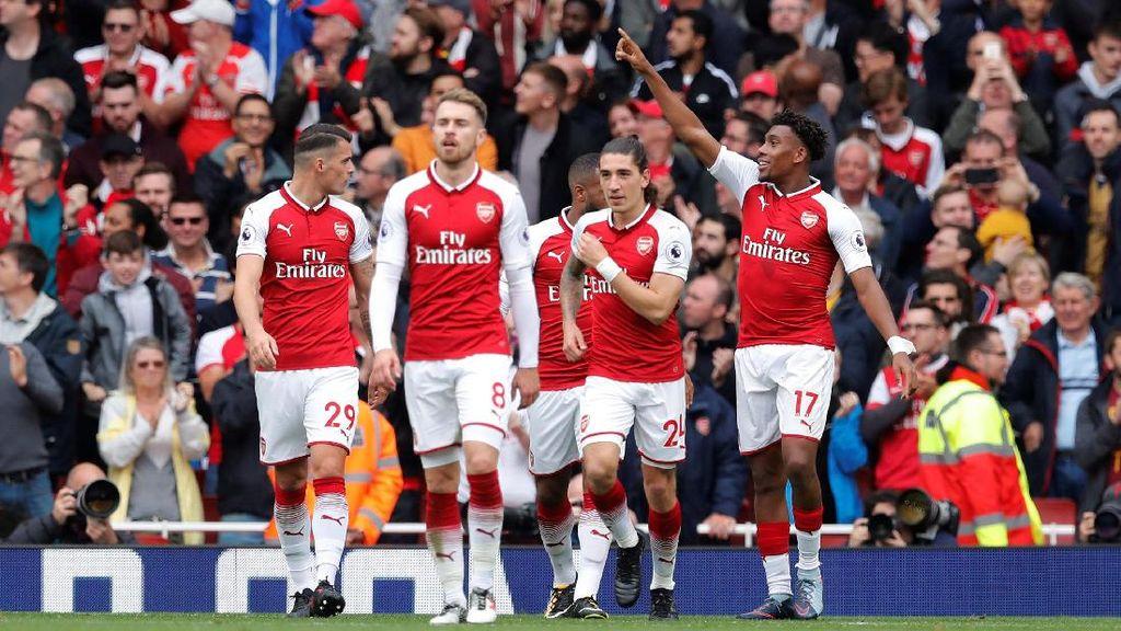 Arsenal Kalahkan Brighton 2-0