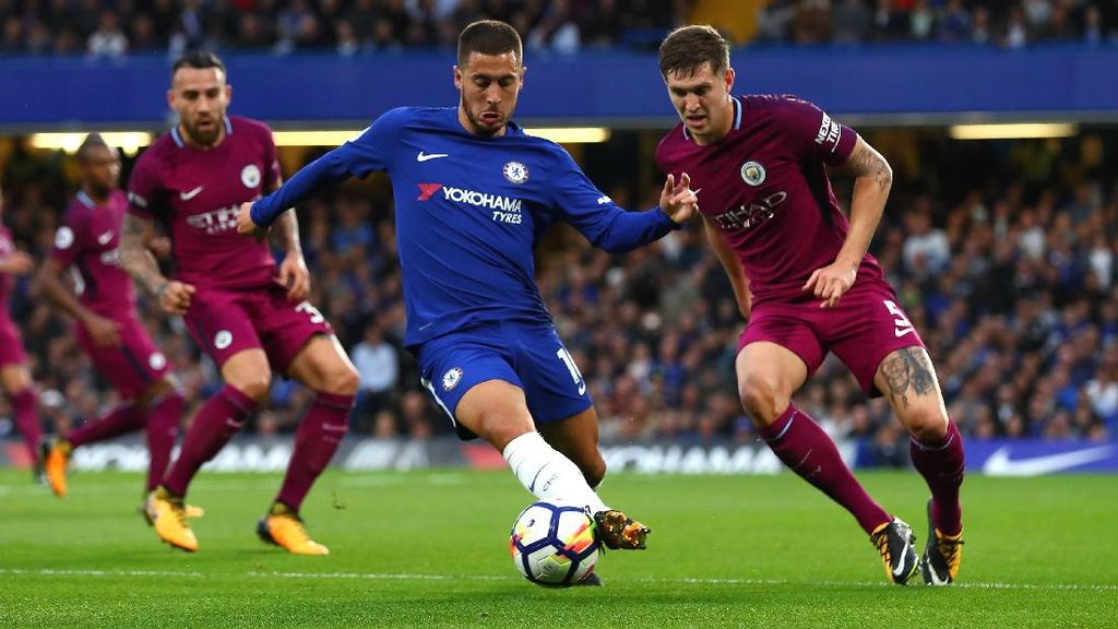Meski Chelsea Sedang Loyo, Hazard Masih Yakin Juara Liga