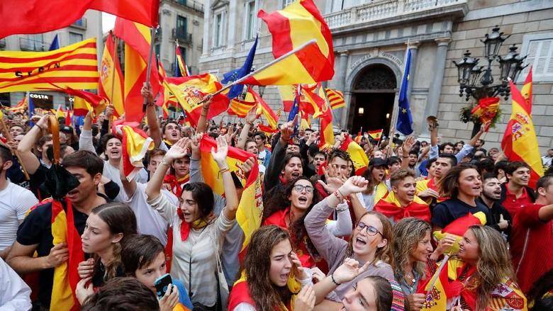 Mengintip Potensi Ekonomi Catalonia yang Ingin Merdeka dari Spanyol