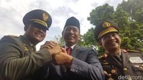Salam Komando Panglima-Kapolri-Wiranto Usai Bicara Polemik Senjata