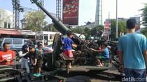 Ada Pameran Alutsista di Semarang, Ayo Adu Gaya di Atas Mobil Tempur