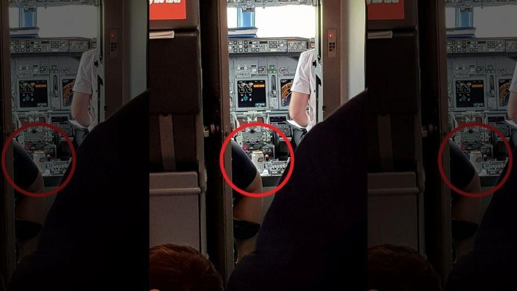 Penumpang Terkejut Saat Melihat Benda Ini Ada di Kokpit Pesawat
