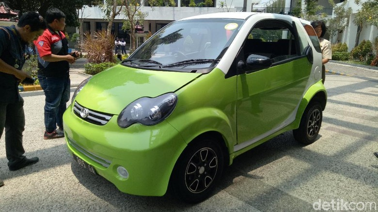 Smartvi, Mobil Listrik Buatan Anak Bangsa Ini Desainnya Oke