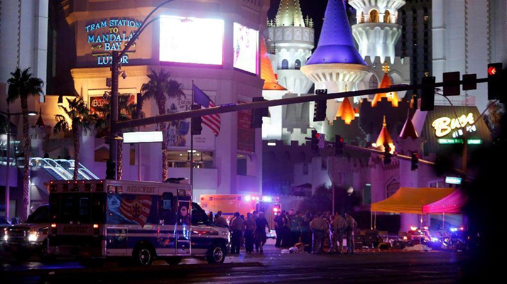 Penembak Las Vegas Sempat Sewa Kamar Dekat Lokasi Konser Musik Lain