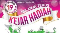 Belanja Terus Kejar Hadiah di Semarak 19 Tahun Transmart Carrefour