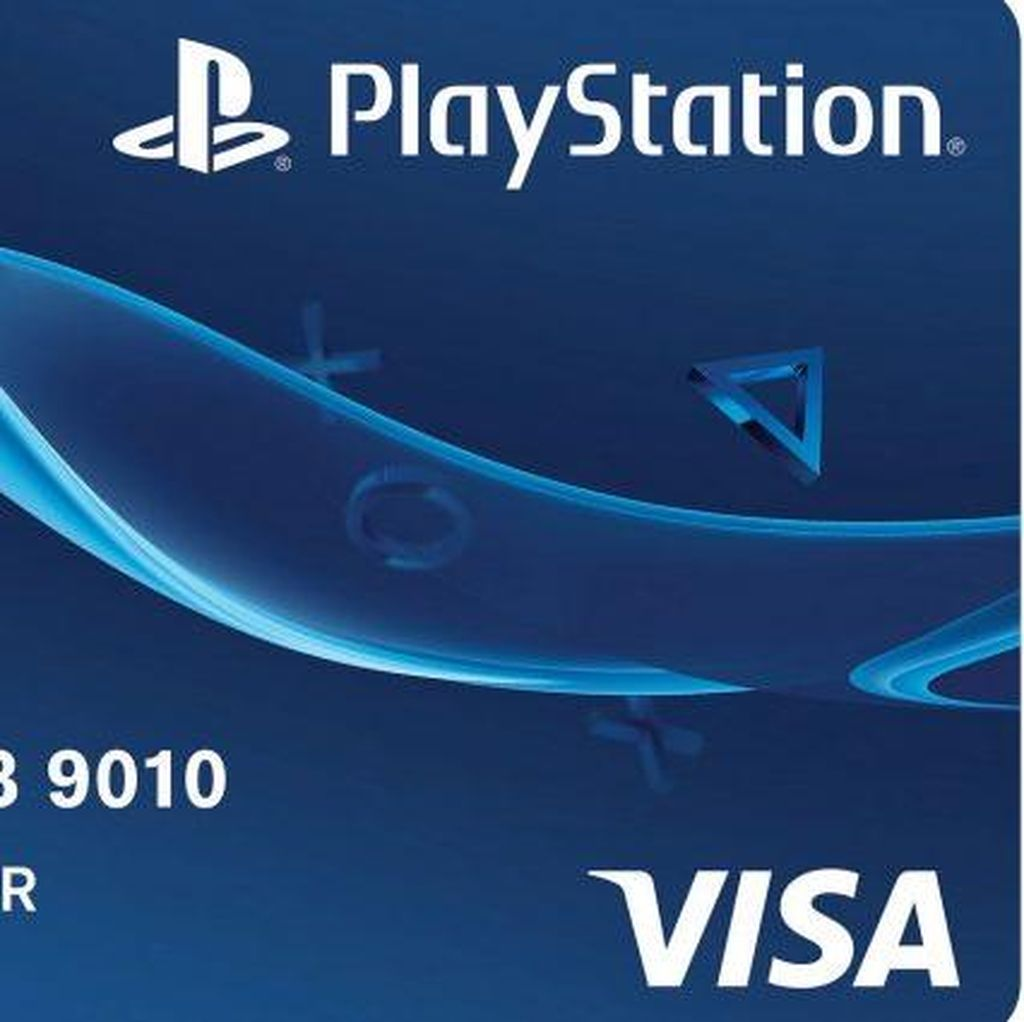 Manjakan Gamer, Sony Rilis Kartu Kredit PlayStation