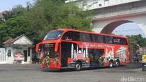 Ayo Naik Bus Tingkat Gratis Keliling Lokasi Wisata di Semarang