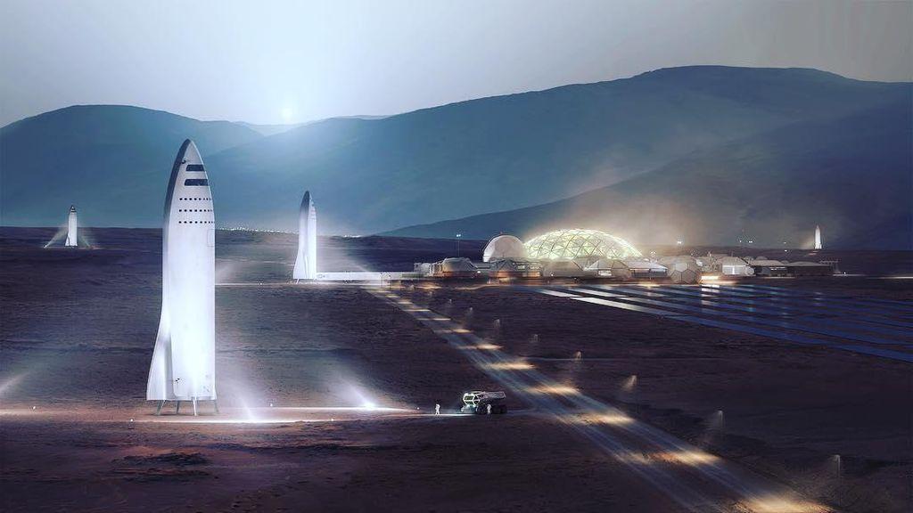 Iron Man Beberkan Rencana Besar Penjajahan Planet Mars