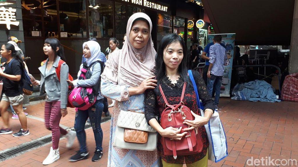 Saat Para Pahlawan Devisa di Hong Kong Rayakan Hari Batik