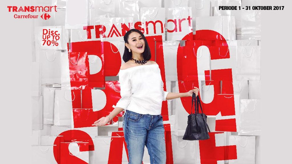 Sale! Beli Kosmetik Dapat Diskon Spesial di Transmart