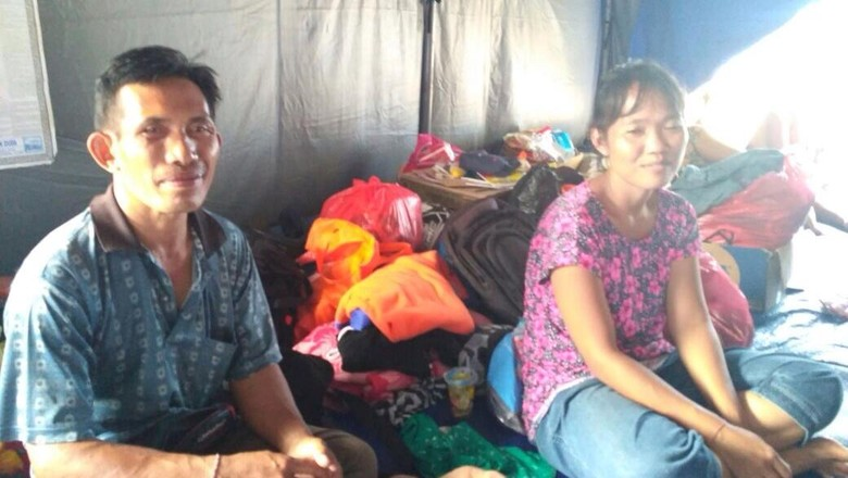 Cerita Pengungsi Gunung Agung Rindu Kerja Demi Biayai Kuliah Anak