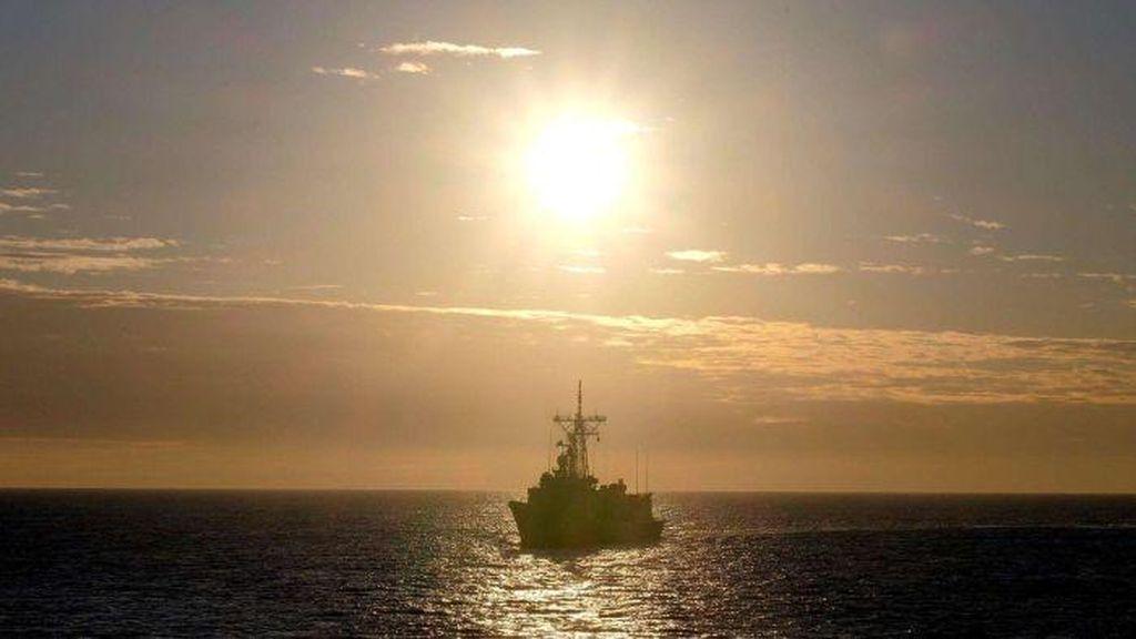 Dua Kapal Perang Australia Menuju ke Semenanjung Korea