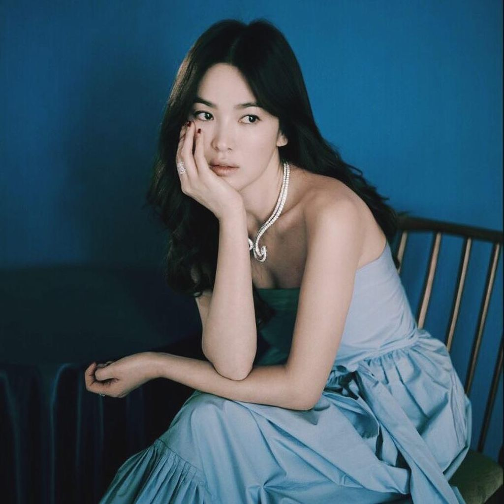 Foto Song Hye Kyo Tanpa Makeup Ini Bikin Netizen Terpesona