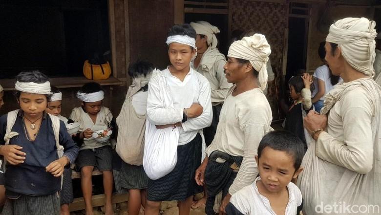Masyarakat di Desa Baduy (Bahtiar/detikTravel)